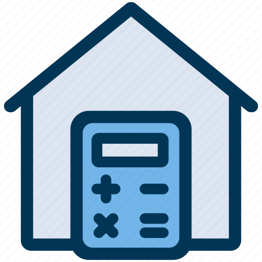 Calculate, house, price icon - Download on Iconfinder