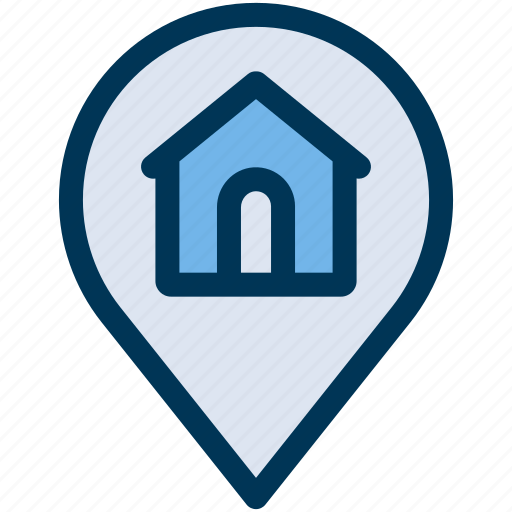 house, location, property icon
