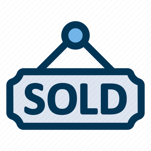house, property, sold icon