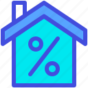 discount, estate, home, house, real, sale icon