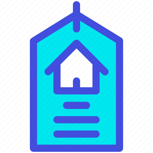 discount, home, house, label, price, sale icon
