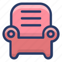 armchair, couch, furniture, seat, sofa icon