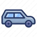automobile, car, minicar, personal car, sedan, transport, vehicle icon