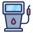 fuel dispenser, fuel station, gas station, petrol bowser, petrol kiosk, petrol pump icon