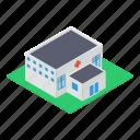 clinic, commercial center, hospital building, pharmacy, rehabilitation center icon