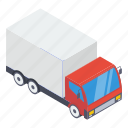 delivery cargo, delivery services, delivery truck, logistics, lorry truck, trailer icon