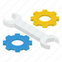configuration, gears, service tool, technical services, tool setting icon