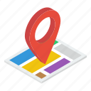 location map, location marker, location pointer, map locator, map navigation, map pin icon
