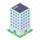city building, city condo, high rise building, modern architecture, skyline icon