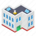 city hall, city home, commercial building, meeting house, residential flats, urban home icon