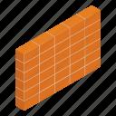 brickwall, construction, construction bricks, construction equipment, construction site, wall construction icon