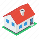 home, house, hut, residential house, shack, villa icon