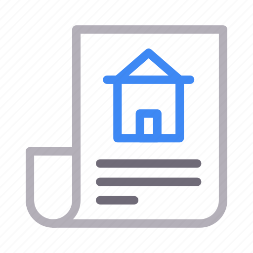 Building, document, home, house, property icon - Download on Iconfinder