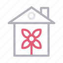 building, flower, home, house, realestate