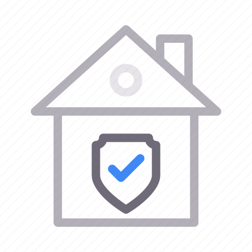 apartment, building, home, house, secure icon