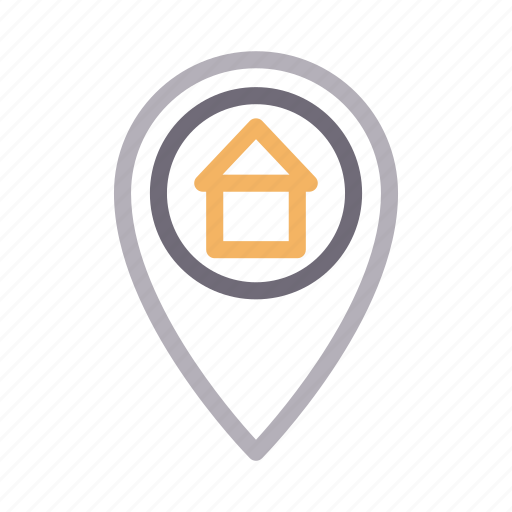 building, location, map, property, realestate icon
