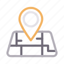 gps, location, map, marker, pin