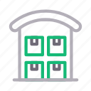 apartment, building, office, property, realestate icon
