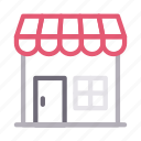 building, property, realestate, shop, store