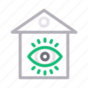 building, home, house, realestate, view icon