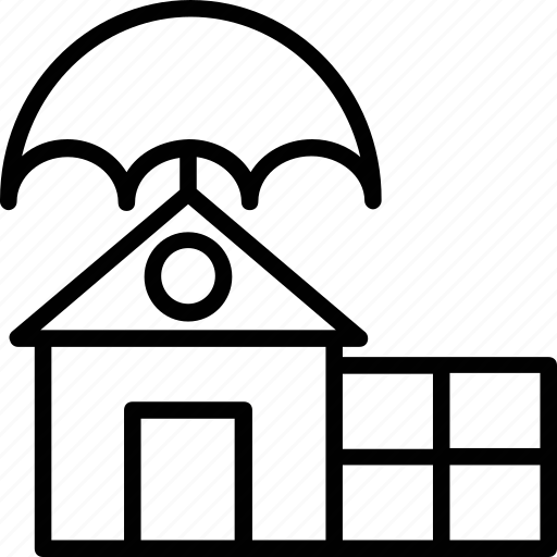 Home insurance, intellectual property, property insurance, property management, property protection icon - Download on Iconfinder