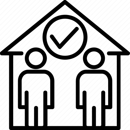 House accord, mortgage, property agreement, property allotment, property deal icon - Download on Iconfinder