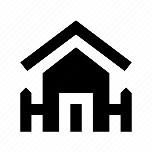 building, farmhouse, home, house, silo icon