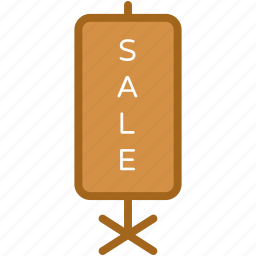 advert board, sale, sale billboard, sale board, sale sign icon