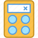 accounting, business, calculating, calculator, mathematics icon