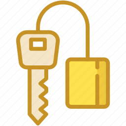 access, door key, house key, key, passkey icon