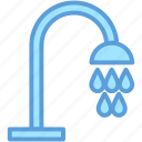 bath, bath shower, bath sprinkler, shower, water drops icon