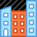 building, flats, housing society, office block, skyscraper