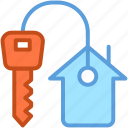 access, door key, house key, key, keychain icon