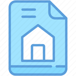 agreement, legal documents, mortgage, mortgage loan, property papers icon