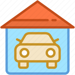 automobile, car garage, garage, garage service, vehicle icon