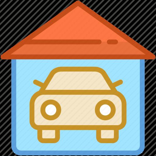 automobile, car garage, garage, garage service, vehicle icon