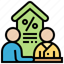 agreement, business, dealing, discussion, negotiate icon