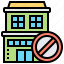 available, empty, house, rent, vacate icon
