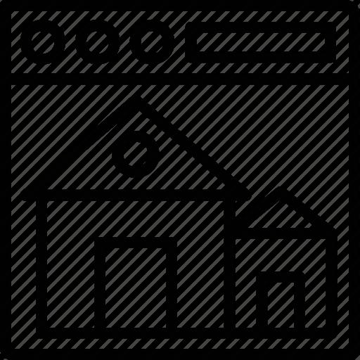 buy online property, home website, property app, real estate marketing, real estate website icon