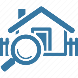 find home, house, real estate, search home icon