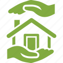 safe, house, real estate, protection, home insurance icon