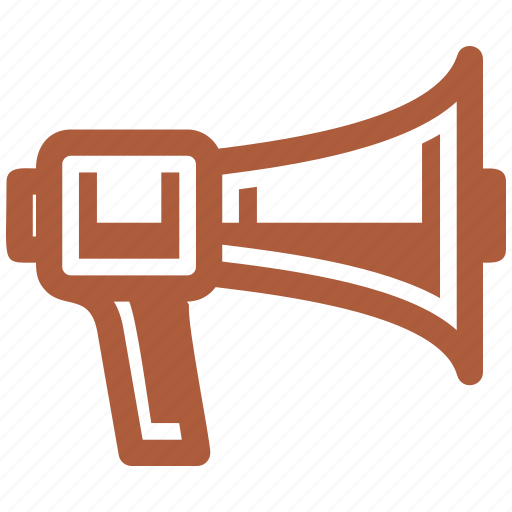 advertising, bullhorn, marketing, megaphone, news icon