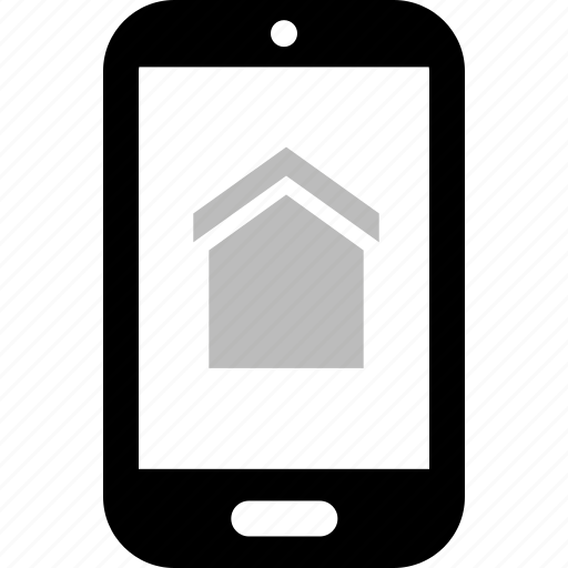 cell, estate, home, phone, real, reatlor, search icon
