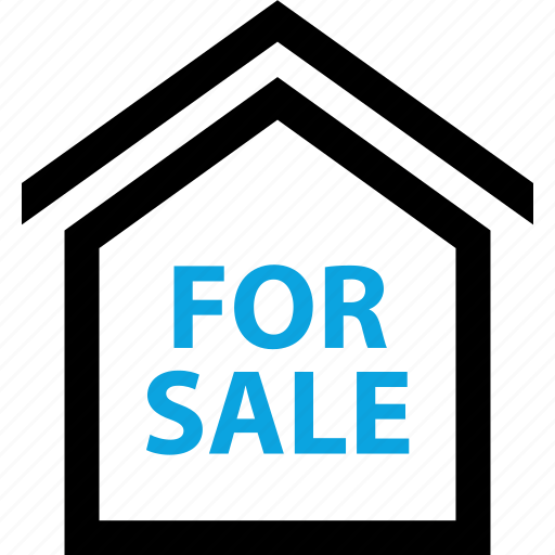 for, forsale, home, house, sales, sign, sold icon