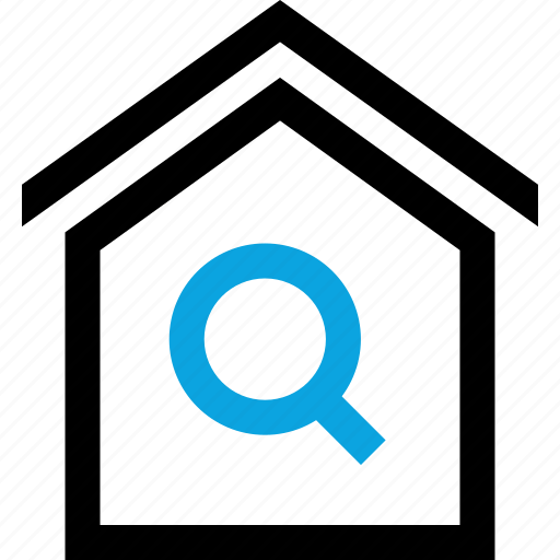 find, home, house, realestate, realtor, search icon