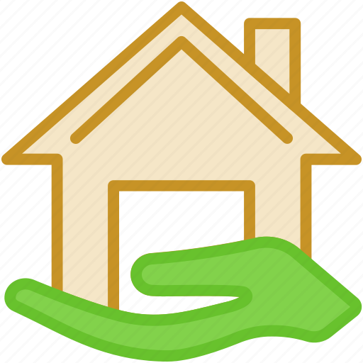 building, home, house, house care, mortgage icon