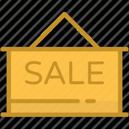 board, hanging board, information, sale, sale signboard icon
