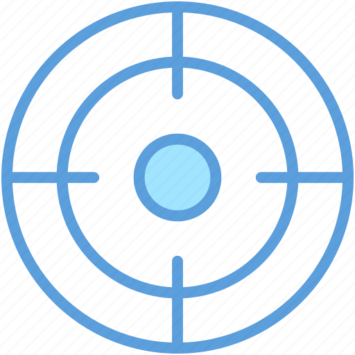 focus, goal, objective, shooting target, target icon