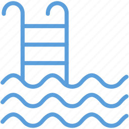 pool ladders, pool stairs, pool steps, sea ladder, swimming pool icon