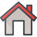 apartment, home, house, real, setate icon